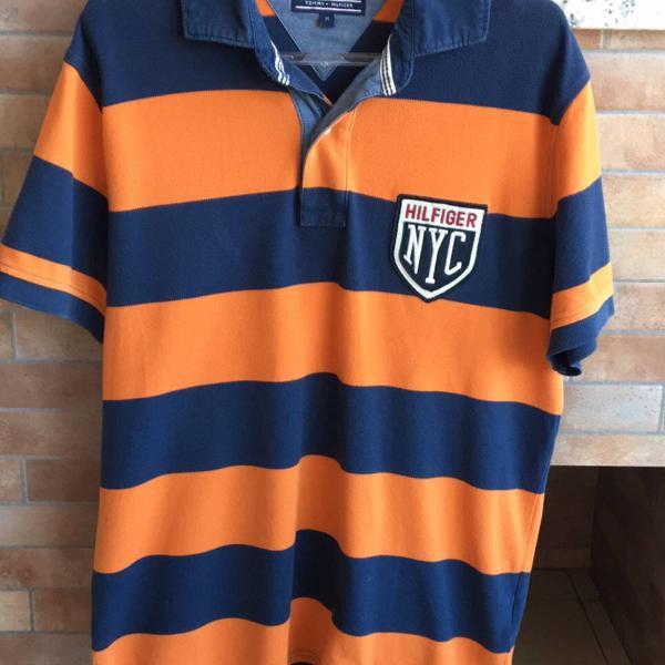 Camisa polo tommy hilfiger masculina