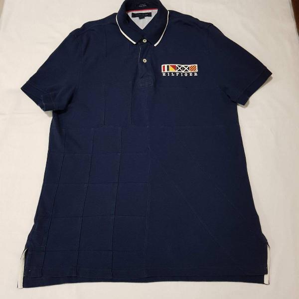 Camisa polo tommy nações