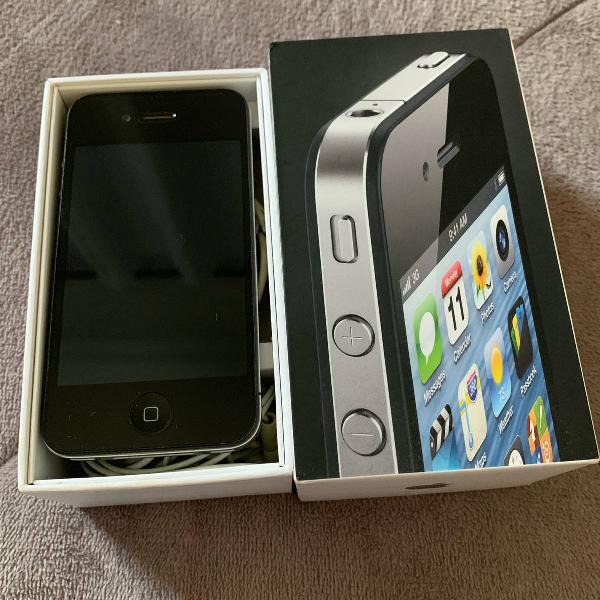 Iphone 4s 8gb semi novo + 3 capas novas grátis