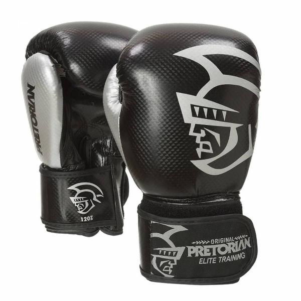 Luva pretorian - boxe/muay thai - elite training - preta