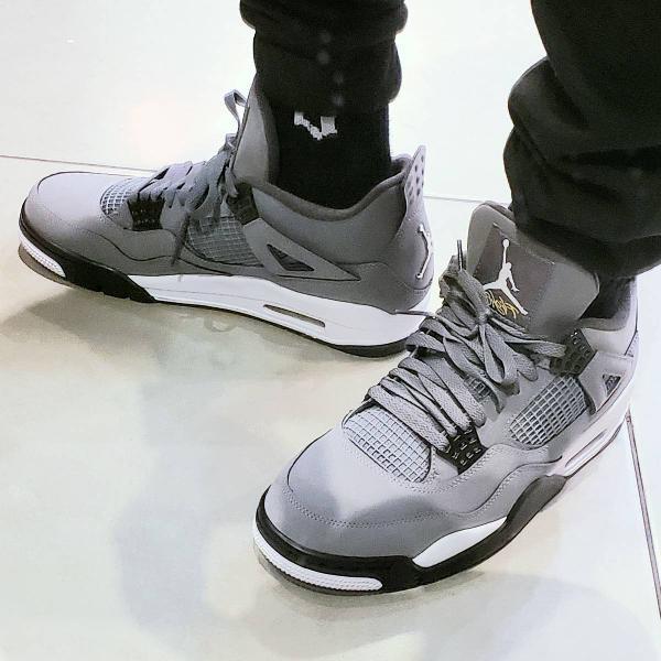 Nike air jordan 4 retro cool grey 43 leia a descricao