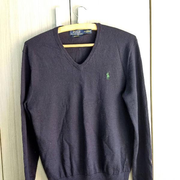 Suéter custom fit ralph lauren