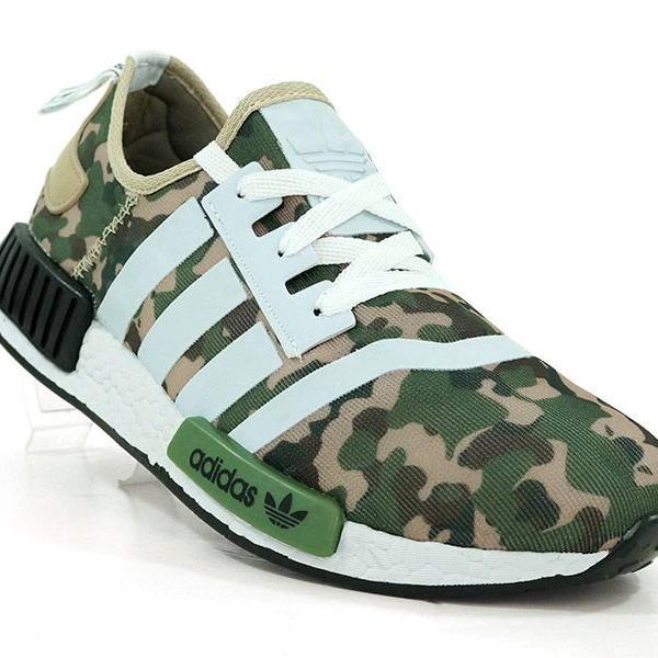 Tênis adidas nmd trail camuflado militar