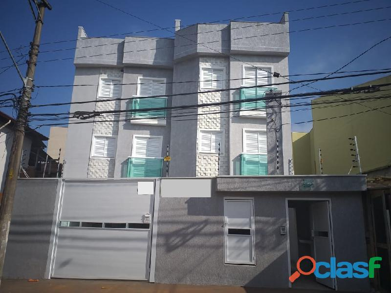 Cobertura Sem Condomínio 84 m² em Santo André   Vila Guiomar.