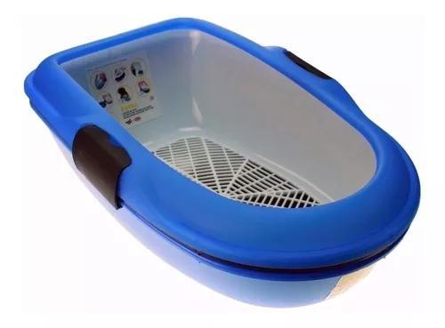Banheiro para gato bandeja sanitario furba c/ grade chalesc
