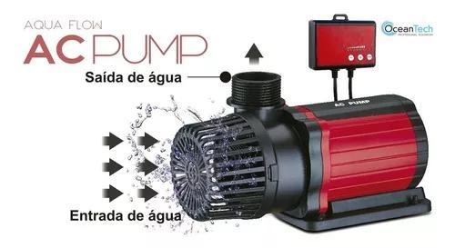 Bomba submersa eco ocean tech ac-20000 l/h 200w envio