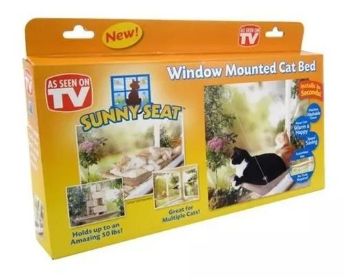 Cama caminha de janela para gatos sunny seat