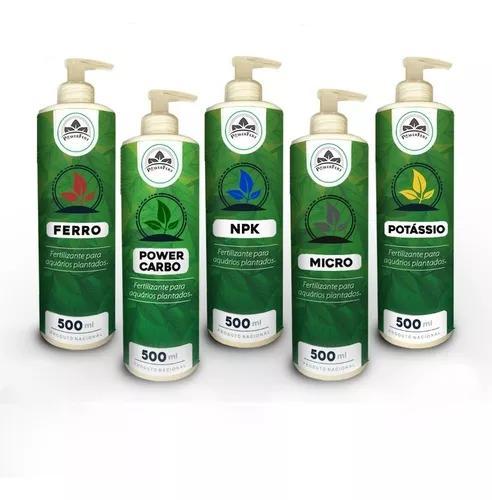 Fertilizante para aquário plantado powerfert kit
