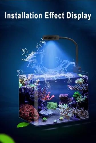 Luminaria programável aqua knight v2 36w led aquario
