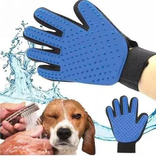 Luva mágica escova, tira pelos dos pets cães, gatos,