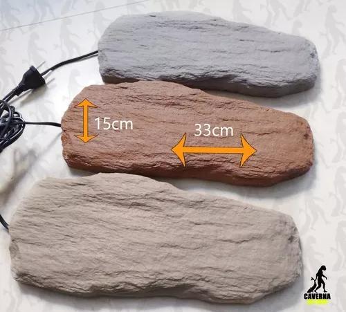 Pedra aquecida para repteis tam g bivolt - cavernapet