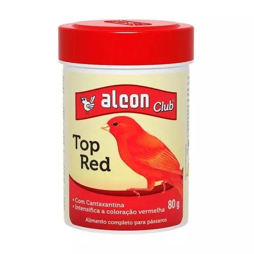 Ração alcon pássaros top red - 80g