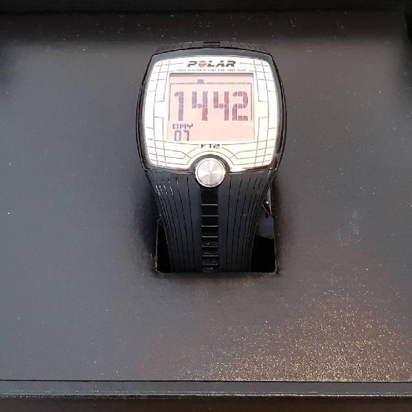 Relógio monitor cardíaco polar ft2 + tira elástica com