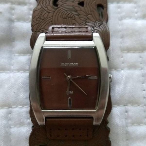 Relógio mormaii marrom