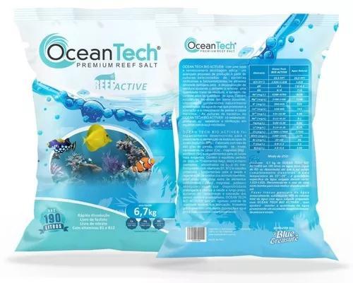 Sal para aquário marinho ocean tech saco c/ 6,7kg
