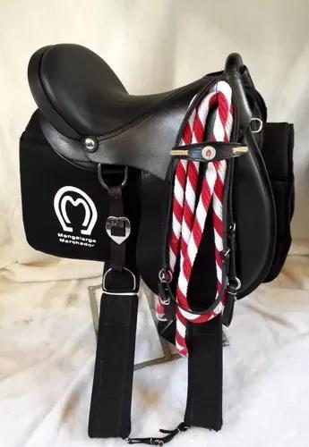 Sela de cavalo profissional couro - completa envio imediato