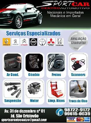 Sportcar centro automotivo