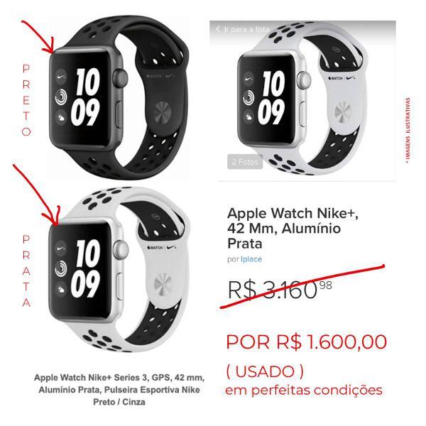 Apple watch impecável