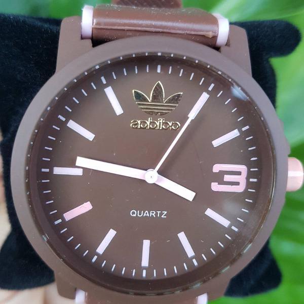 Relógio adidas marrom