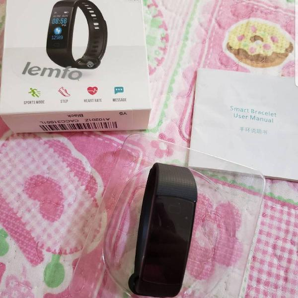 Relógio monitoramento pulso lemfo