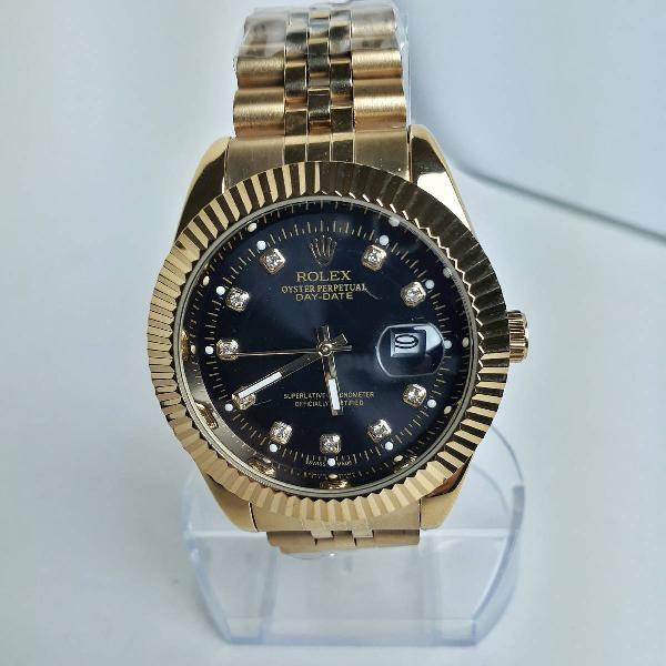 Relógio rolex dourado (novo)