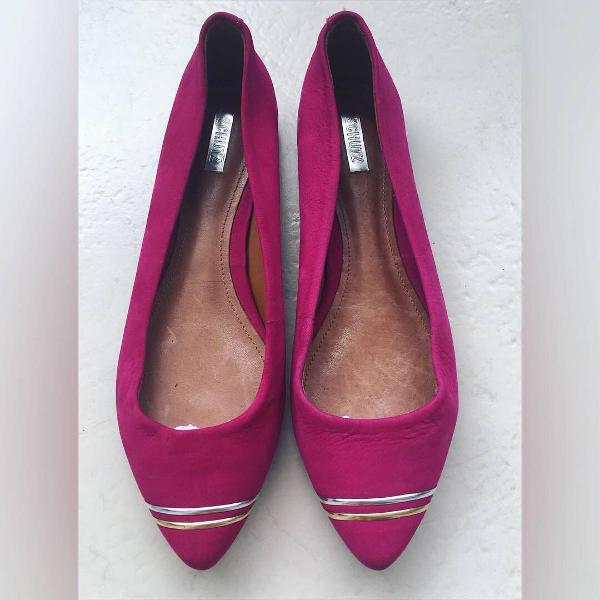Sapatilha rosa pink schutz