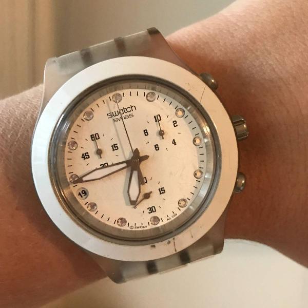 Swatch branco