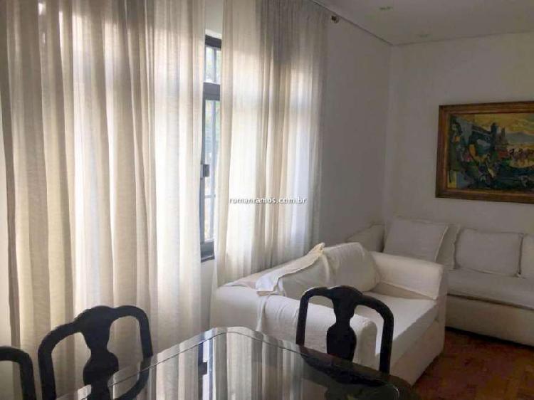 Apartamento com 1 quarto para alugar, 56 m² por r$