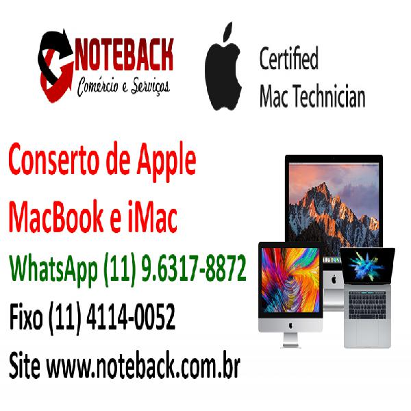 Assistência técnica apple imac macbook pro mac mini