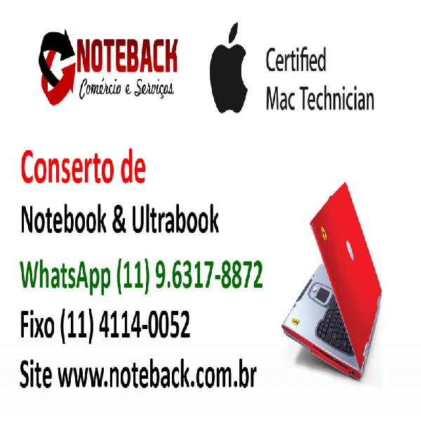 Assistência técnica de notebook ultrabook