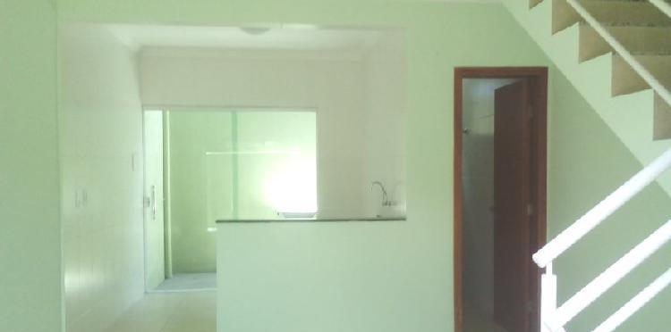 Bela casa duplex geminada no bairro belo vale financiada