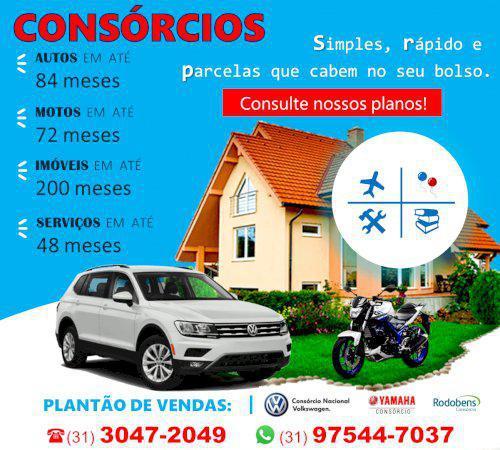 Consórcio - carros, motos, imóveis e serviços