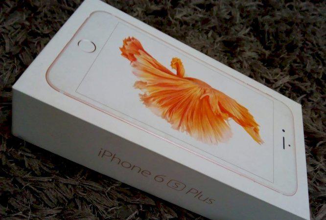 Celular iphone 6s plus 64gb perfeito estado