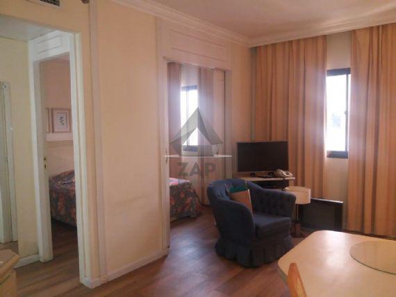Flat com 1 quarto para alugar, 30 m² por r$ 1.500/mês cod.