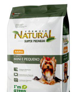 Fórmula natural super premium cães adultos mini / peq. 20