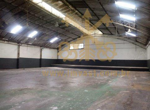 Galpão/depósito/armazém para alugar, 688 m² por r$