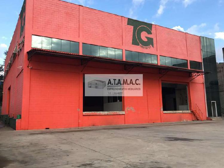 Galpão/depósito/armazém para alugar, 850 m² por r$