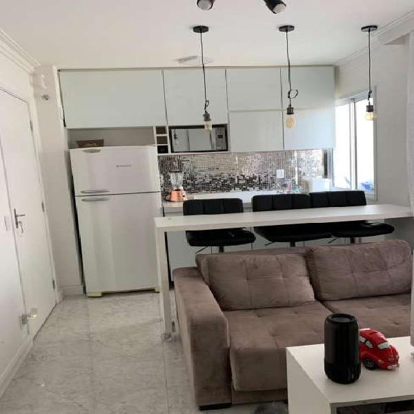 Kitnet com 1 quarto para alugar, 27 m² por r$ 1.650/mês