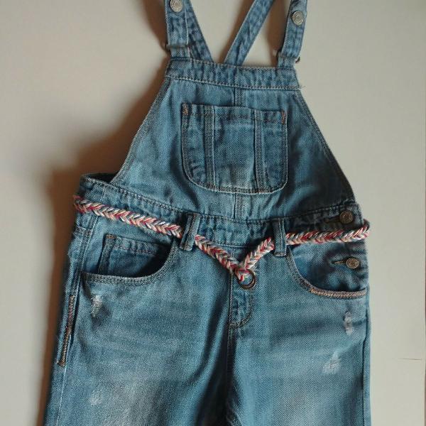 Macacão jeans zara
