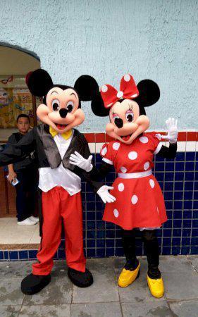 Mickey e minnie para festa infantil bh e regiao