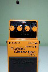 Pedal de distorção boss turbo distortion ds-2