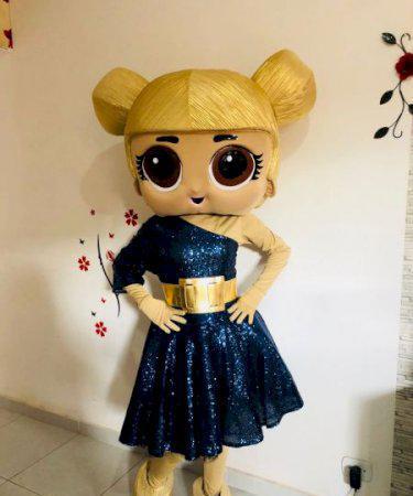 Personagem bonecas lol para festa infantil bh e regiao