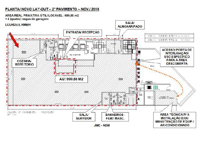 Sala comercial à venda, 700 m² por r$ 2.890.000 cod.