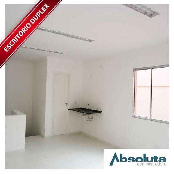 Sala comercial para alugar, 49 m² por r$ 1.899/mês cod.