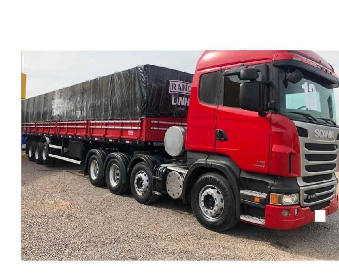 Scania 440 1313 bitruck 8x2