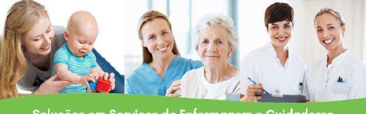 Soluções em serviços de enfermagem e cuidadores de idosos