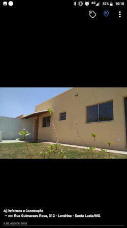Tima casa gemina nova a venda bairro londrina santa luzia