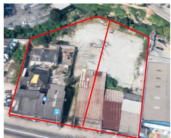 Terreno em mauá-sp. 4.700 m2 - local extremamente