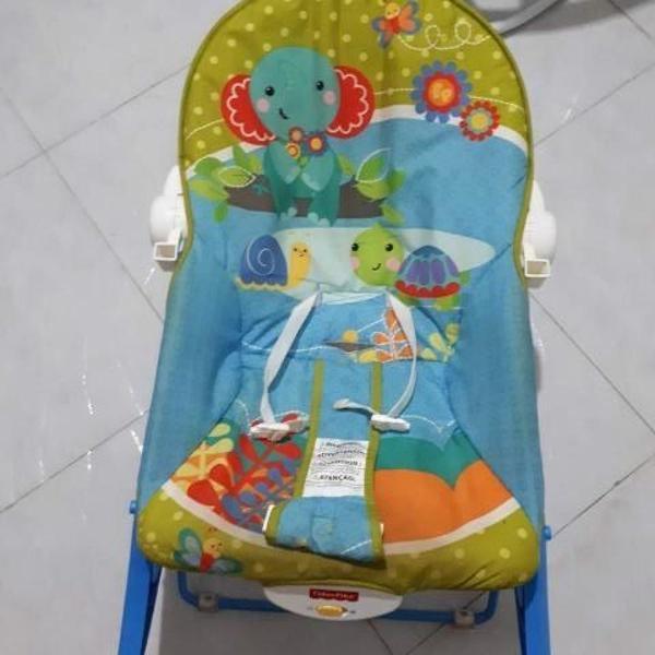 Cadeira de balanço fisher price vibratória perfeito estado