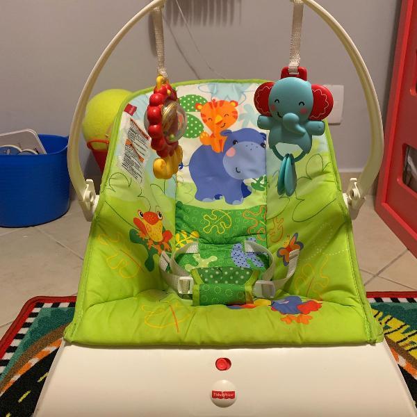 Cadeirinha de descanso bebê/ bounce chair fisher price